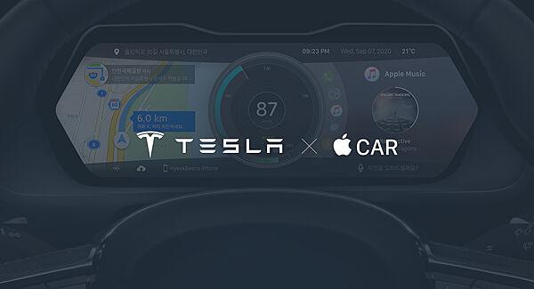 Tesla X Apple Car