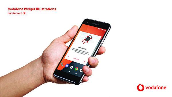 Vodafone Widget Illustration Language for Android OS
