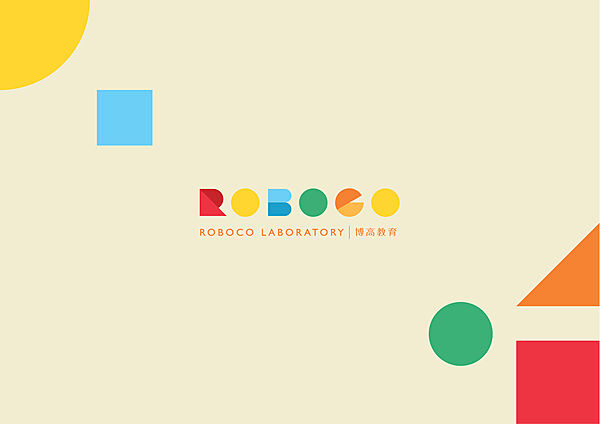 Roboco Education Branding Design