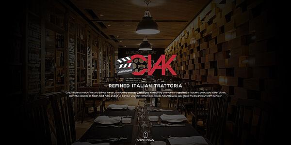 CIAK concept Website Design