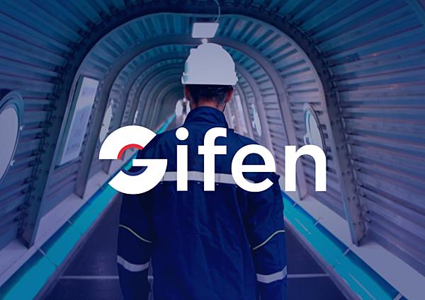 GIFEN website redesign