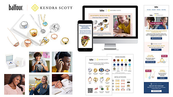 Balfour and Kendra Scott Class Jewelry Launch Campaign