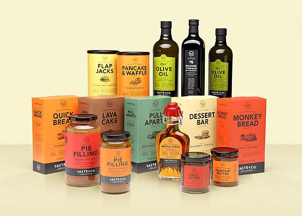 Taste & Co. Packaging
