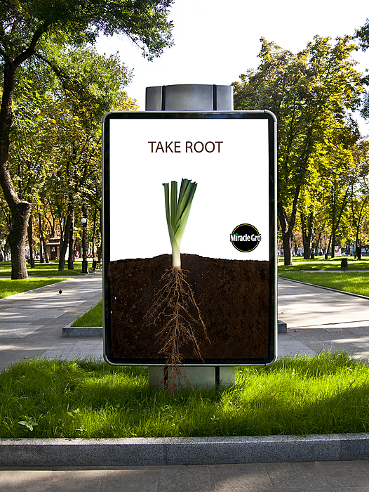 Miracle-Gro: Living Billboards